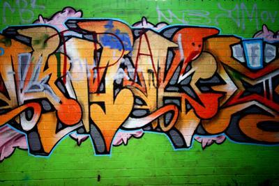 Graffiti Tag Thats Green by sammyc