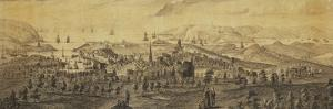 The North East Prospect of Plymouth, in the County of Devon by Samuel and Nathaniel Buck