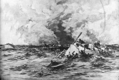 The Lifeboats of RMS Lusitania, 7 May 1915