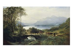 At the Head of the Loch, 1863 by Samuel Bough