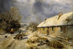 Burns's Cottage, Alloway, 1876 by Samuel Bough