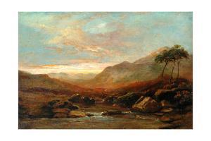 Landscape, 1822 by Samuel Bough
