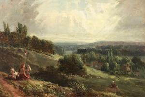 Landscape with Children by Samuel Bough