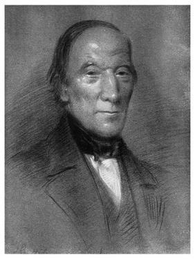 Robert Owen, Welsh-Born Industrialist, Philanthropist and Socialist, 1851 by Samuel Bough