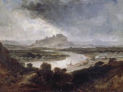 Stirling Castle from the River Forth, 1857