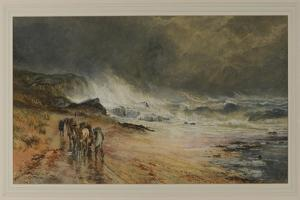 Storm on the Firth, 1874 by Samuel Bough