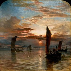Sunset over the Forth, 1871 by Samuel Bough