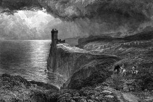 The Bride of Lammermoor by Samuel Bough