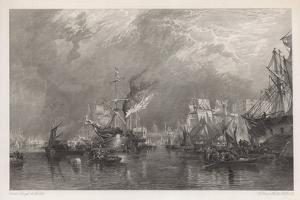 The Port of London by Samuel Bough
