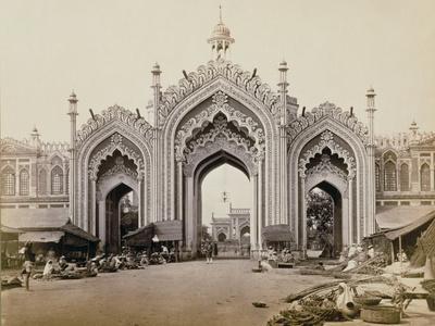 Gateway of the Hoospinbad Bazaar