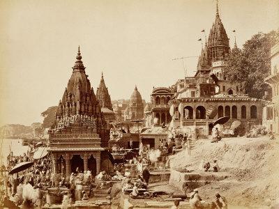 Vishnu Pud and Other Temples, Benares