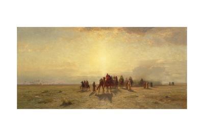 Caravan in the Desert, 1878