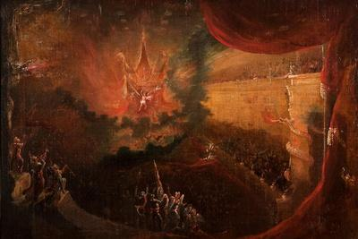 Satan Enthroned in Hell