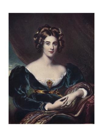 Lady Lyndhurst, c1836, (1904)