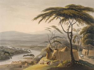 The Town of Leetakoo, 1804-05 by Samuel Daniell