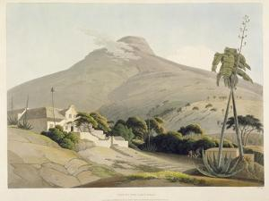 View of the Lion's Head, Plate 28 from 'African Scenery and Animals', Engraved by the Artist, 1805 by Samuel Daniell
