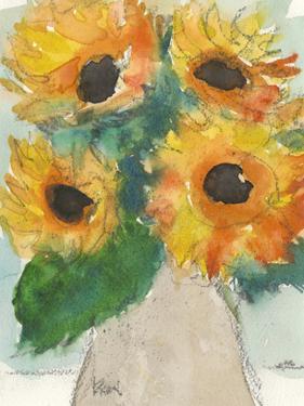 Rustic Sunflowers II by Samuel Dixon