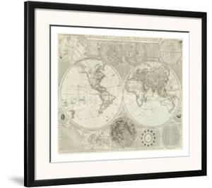 Composite: World or Terraqueous Globe, c.1787 by Samuel Dunn
