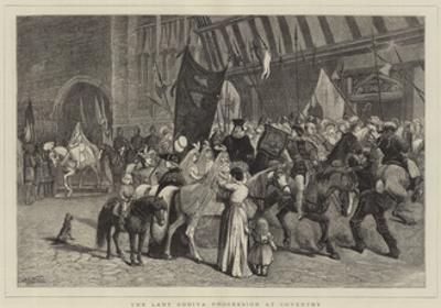 The Lady Godiva Procession at Coventry