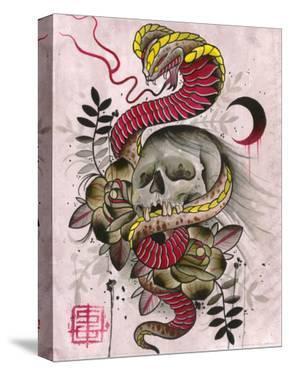 Cobra & Skull by Samuel Gosson