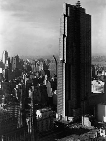 The R.C.A. Building, New York