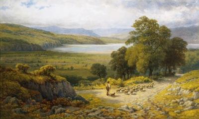 Llandudno Junction, North Wales by Samuel Henry Baker