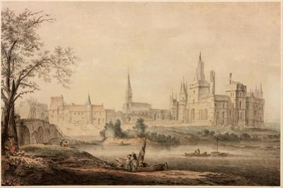 A French Chateau, 1770