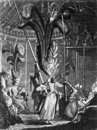 A Hint to the Ladies to Take Care of their Heads, Printed by Sayer + Bennet, 1776 (Engraving)