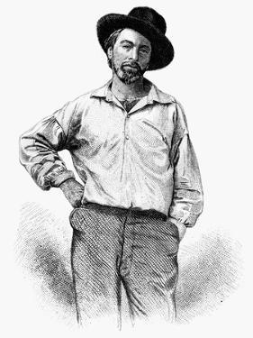 Walt Whitman (1819-1892) by Samuel Hollyer