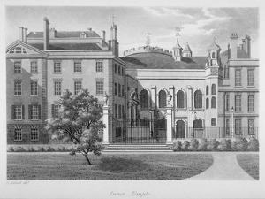 View of Inner Temple, City of London, 1800 by Samuel Ireland