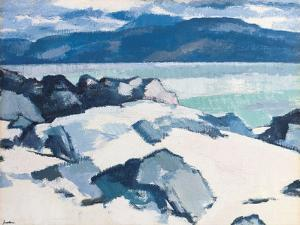 Ben More, Mull, from Iona by Samuel John Peploe