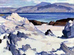 Green Sea, Iona, 1920s by Samuel John Peploe
