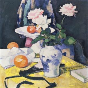 Roses and Oranges, C.1920 by Samuel John Peploe
