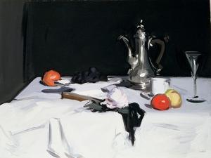 Still Life with Coffee Pot, c.1905 by Samuel John Peploe
