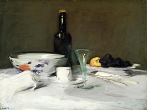 The Black Bottle, C.1905 by Samuel John Peploe