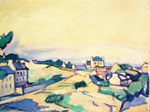The Island of Brehat, 1911 by Samuel John Peploe