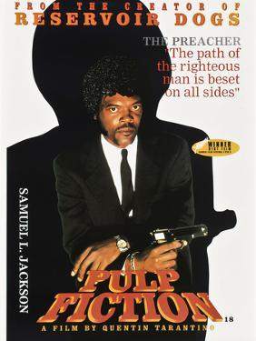 """SAMUEL L. JACKSON. """"Pulp Fiction"""" [1994], directed by QUENTIN TARANTINO."""
