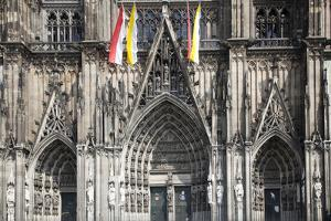 Germany, Cologne, Cologne Cathedral, Southern Facade, General View by Samuel Magal
