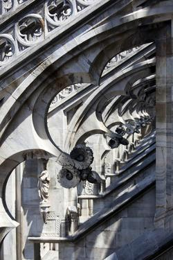 Italy, Milan, Milan Cathedral, Flying Buttresses by Samuel Magal