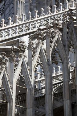 Italy, Milan, Milan Cathedral, Great Spire by Samuel Magal
