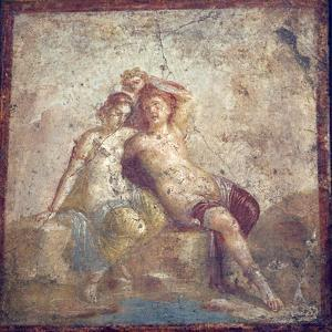 Italy, Naples Museum, from Pompeii, Capitelli Colorati House (VII 4,51-31), Perseus and Andromeda by Samuel Magal