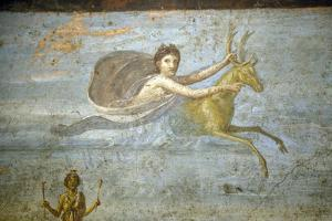 Italy, Naples Museum, from Pompeii, House of the Tragic Poet  (VI, 8, 5), Iphigenia's Sacrifice by Samuel Magal