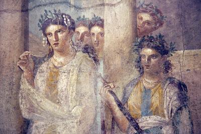 Italy, Naples, Naples Museum, from Pompeii, Caecilius Lucundus House (V 1, 26), Iphigenia in Tauris
