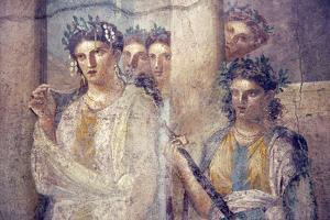 Italy, Naples, Naples Museum, from Pompeii, Caecilius Lucundus House (V 1, 26), Iphigenia in Tauris by Samuel Magal