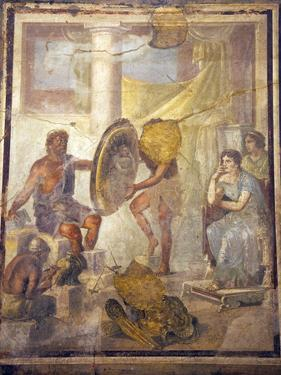 Italy, Naples, Naples Museum, from Pompeii, House IX, 1,7, Thetis and Ephestus by Samuel Magal