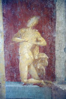 Italy, Naples, Naples Museum, from Pompeii, House of Diodcuri, Massacre of Niobids by Samuel Magal