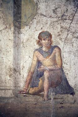 Italy, Naples, Naples Museum, from Pompeii, House of Jason (IX 5, 18), Medea by Samuel Magal