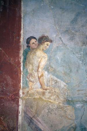 Italy, Naples, Naples Museum, from Pompeii, Prince of Montenegro House, Perseus freeing Andromeda by Samuel Magal