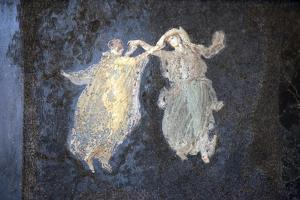 Italy, Naples, Naples Museum, from Pompeii, Villa of Cicerone, Dancer by Samuel Magal