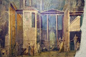 Italy, Naples, Naples Museum, Pompeii, House of the Group of Vases (VI 13, 2), Medea and Peliadi by Samuel Magal